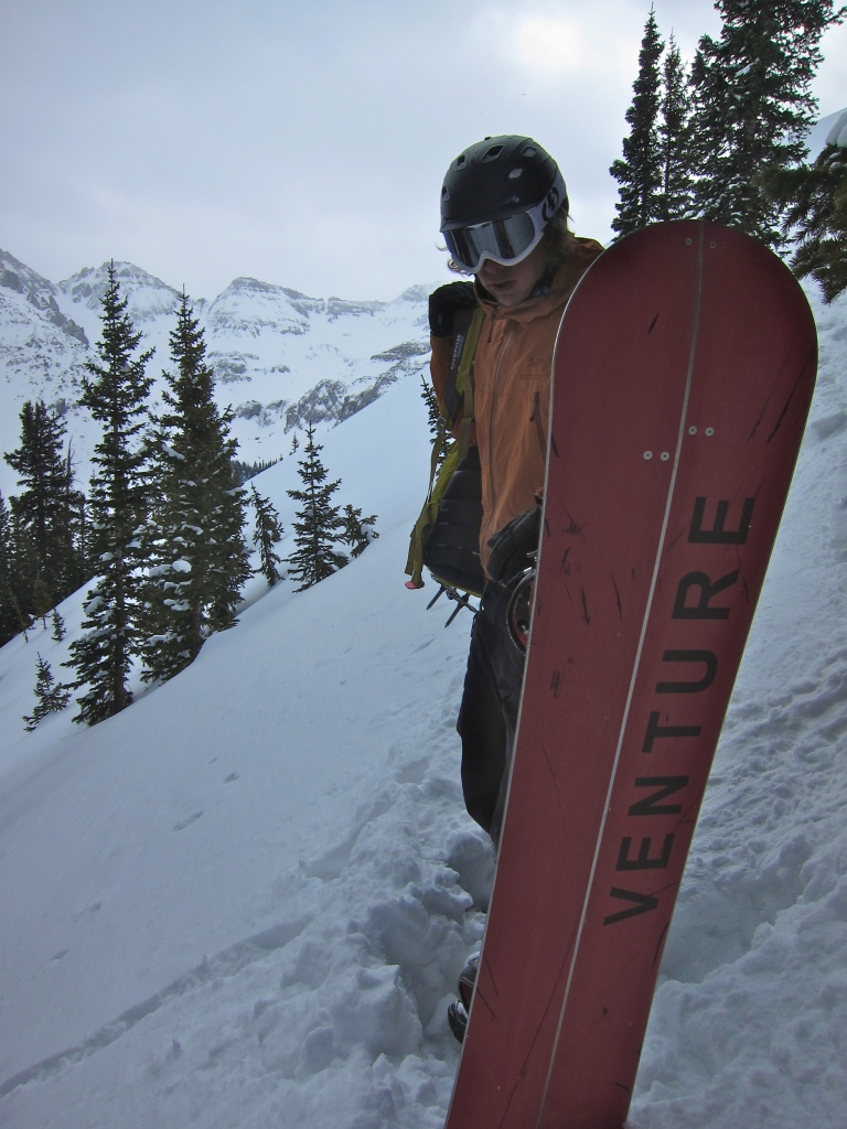 Trees, powder fields and Venture boards